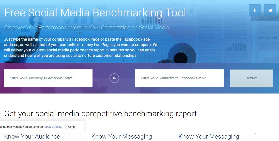 social bakers free facebook analysis tool