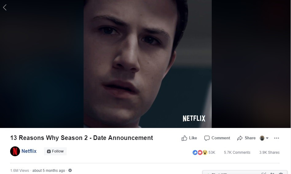 13 reasons why season 2 date announcement
