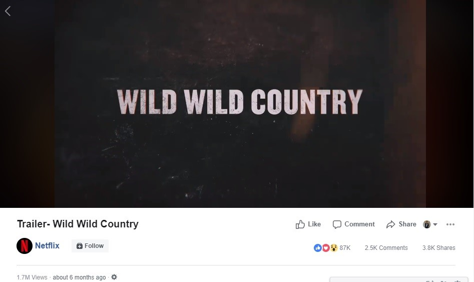 trailer wild wild country
