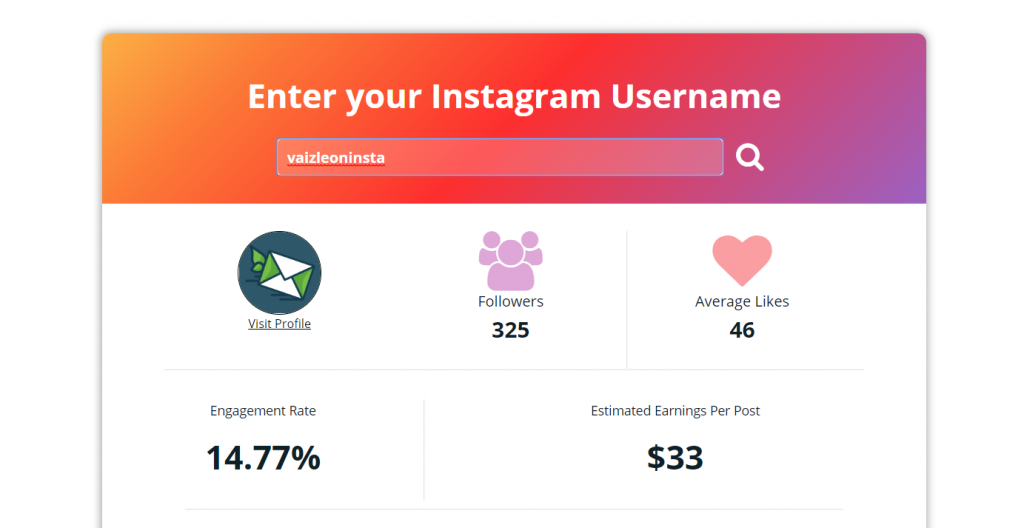 free instagram influencer research tool