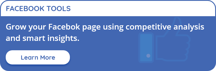 Perform Facebook analysis with Free Facebook Analytics Tool